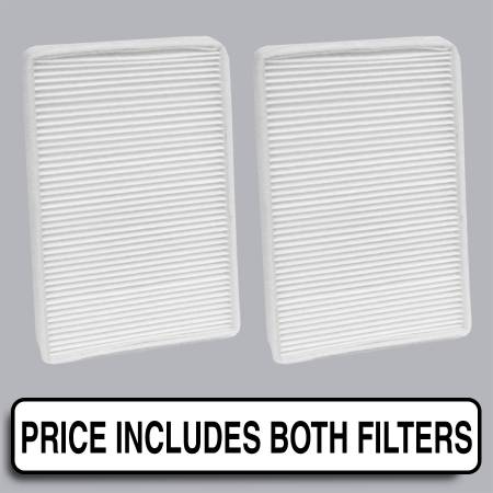 GMC Yukon - GMC Yukon 2000 - FilterHeads - AQ1031 Cabin Air Filter - Particulate Media