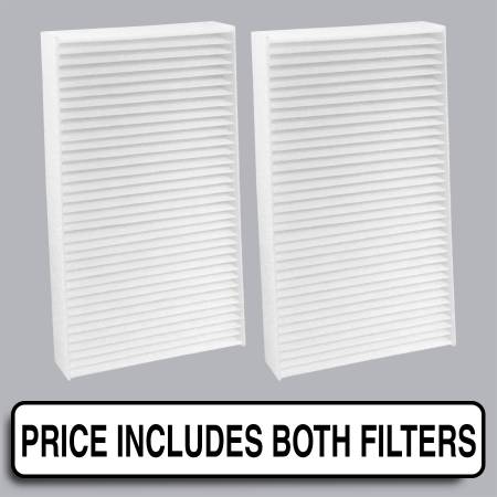 Acura RSX - Acura RSX 2002 - FilterHeads - AQ1040 Cabin Air Filter - Particulate Media