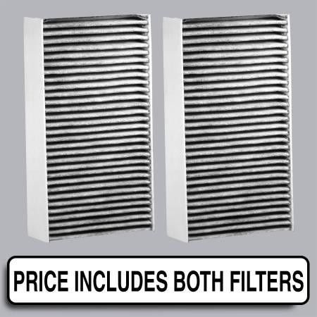 Honda Civic - Honda Civic 2004 - FilterHeads - AQ1040C Cabin Air Filter - Carbon Media, Absorbs Odors