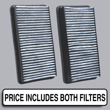 Buick Rendezvous - Buick Rendezvous 2007 - FilterHeads - AQ1041C Cabin Air Filter - Carbon Media, Absorbs Odors