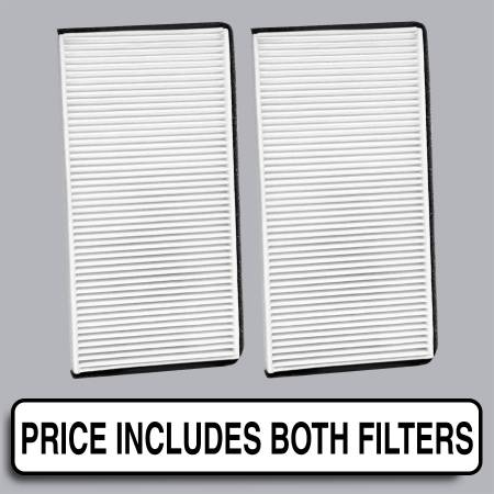 Chevrolet Tracker - Chevrolet Tracker 2004 - FilterHeads - AQ1056 Cabin Air Filter - Particulate Media