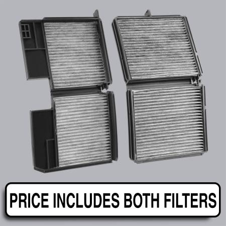 Lexus ES300 - Lexus ES300 1993 - FilterHeads - AQ1061 Cabin Air Filter - Carbon Media, Absorbs Odors
