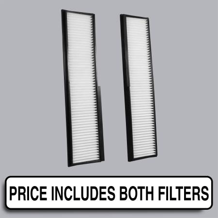 Mercedes-Benz 300CE - Mercedes-Benz 300CE 1990 - FilterHeads - AQ1081 Cabin Air Filter - Particulate Media