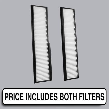 Mercedes-Benz 300CE - Mercedes-Benz 300CE 1992 - FilterHeads - AQ1081 Cabin Air Filter - Particulate Media