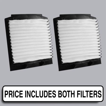 Land Rover Range Rover - Land Rover Range Rover 2000 - FilterHeads - AQ1092 Cabin Air Filter - Particulate Media