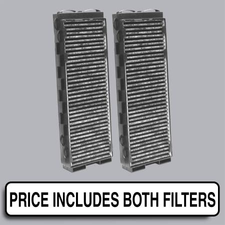 FilterHeads - AQ1093C Cabin Air Filter - Carbon Media, Absorbs Odors