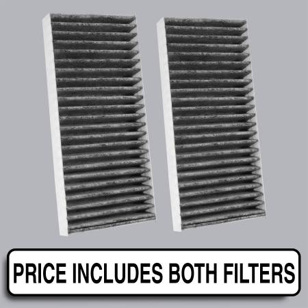 Nissan NV2500 - Nissan NV2500 2014 - FilterHeads - AQ1095C Cabin Air Filter - Carbon Media, Absorbs Odors