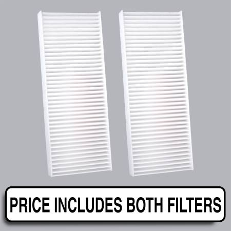 Suzuki Equator - Suzuki Equator 2012 - FilterHeads - AQ1113 Cabin Air Filter - Particulate Media