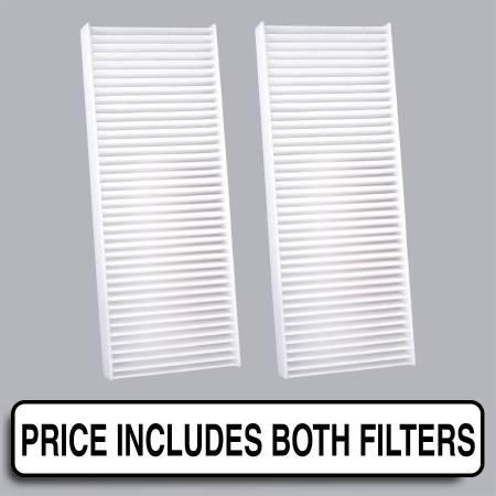 Nissan Xterra - Nissan Xterra 2008 - FilterHeads - AQ1113 Cabin Air Filter - Particulate Media