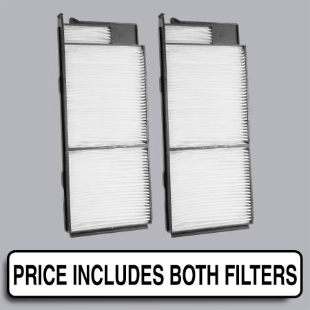 Lexus LX470 - Lexus LX470 2002 - FilterHeads - AQ1117 Cabin Air Filter - Particulate Media
