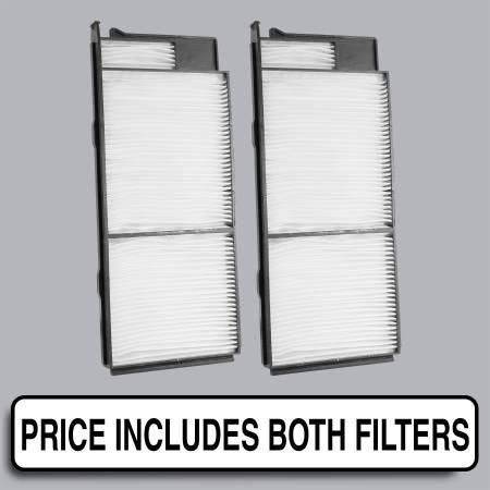 Lexus LX470 - Lexus LX470 2001 - FilterHeads - AQ1117 Cabin Air Filter - Particulate Media