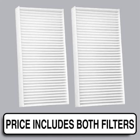 Dodge Nitro - Dodge Nitro 2008 - FilterHeads - AQ1131 Cabin Air Filter - Particulate Media