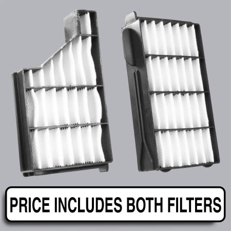 Subaru Forester - Subaru Forester 2001 - FilterHeads - AQ1135 Cabin Air Filter - Particulate Media