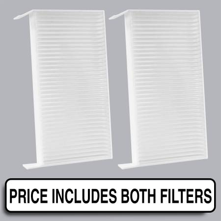 Nissan Quest - Nissan Quest 2009 - FilterHeads - AQ1137 Cabin Air Filter - Particulate Media