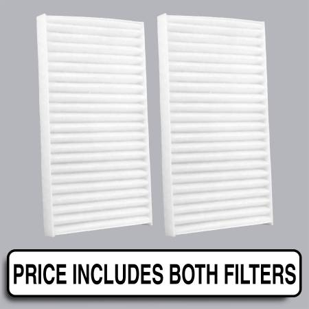 FilterHeads - AQ1142 Cabin Air Filter - Particulate Media - Image 1