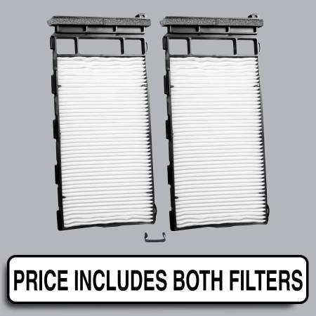 Nissan Xterra - Nissan Xterra 2003 - FilterHeads - AQ1166 Cabin Air Filter - Particulate Media