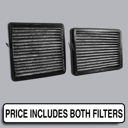 Mercedes-Benz CLK55 AMG - Mercedes-Benz CLK55 AMG 2006 - FilterHeads - AQ1184C Cabin Air Filter - Carbon Media, Absorbs Odors