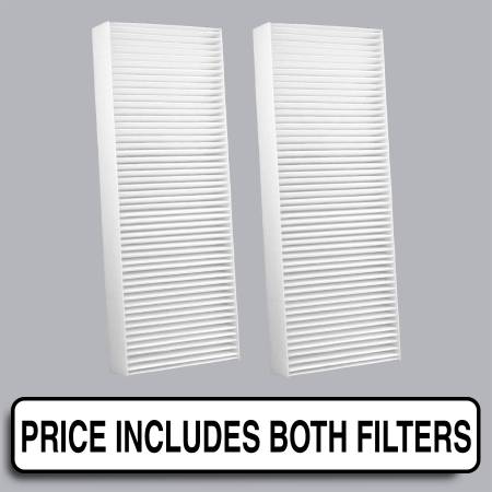FilterHeads - AQ1186 Cabin Air Filter - Particulate Media - Image 1