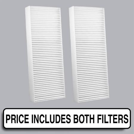 Honda Prelude - Honda Prelude 2000 - FilterHeads - AQ1186 Cabin Air Filter - Particulate Media