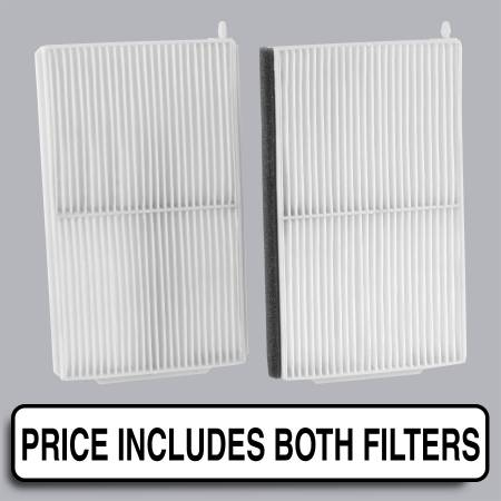 FilterHeads - AQ1187 Cabin Air Filter - Particulate Media - Image 1