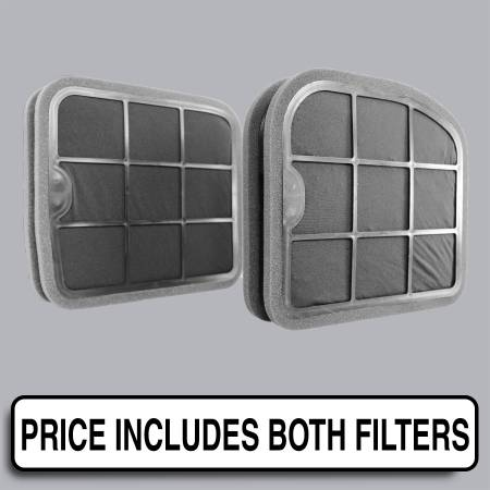 Mercedes-Benz S500 - Mercedes-Benz S500 2005 - FilterHeads - AQ1193C Cabin Air Filter - Carbon Media, Absorbs Odors