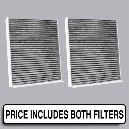 BMW 550i - BMW 550i 2012 - FilterHeads - AQ1194C Cabin Air Filter - Carbon Media, Absorbs Odors