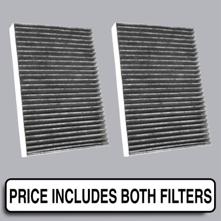 FilterHeads - AQ1195C Cabin Air Filter - Carbon Media, Absorbs Odors - Image 1