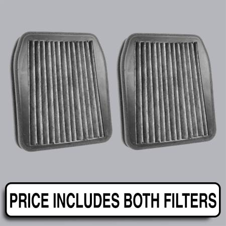 Mercedes-Benz E500 - Mercedes-Benz E500 2005 - FilterHeads - AQ1208C Cabin Air Filter - Carbon Media, Absorbs Odors