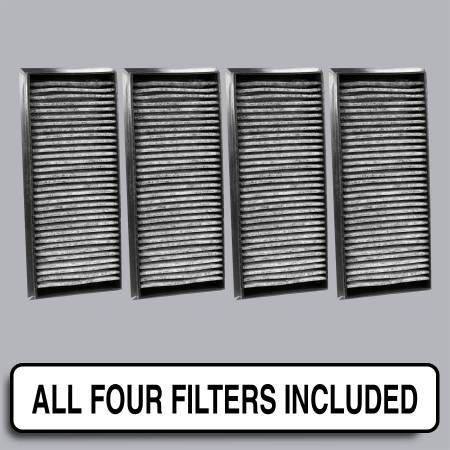 BMW M3 - BMW M3 2010 - FilterHeads - AQ1218C Cabin Air Filter - Carbon Media, Absorbs Odors