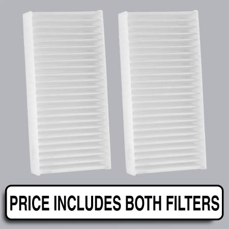 Jeep Wrangler - Jeep Wrangler 2011 - FilterHeads - AQ1229 Cabin Air Filter - Particulate Media