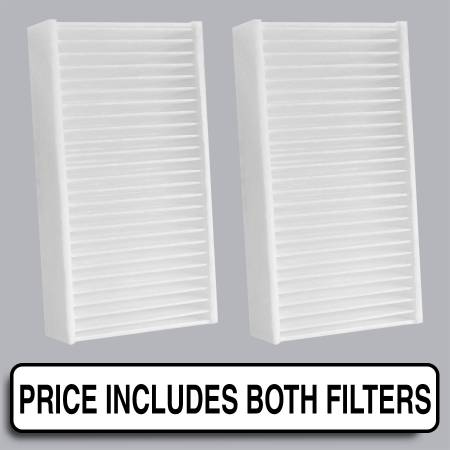 FilterHeads - AQ1239 Cabin Air Filter - Particulate Media - Image 1