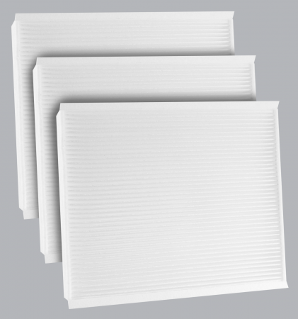 FilterHeads - AQ1251 Cabin Air Filter - Particulate Media 3PK - Buy 2, Get 1 Free! - Image 1
