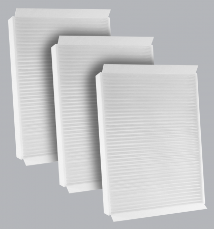 FilterHeads - AQ1252 Cabin Air Filter - Particulate Media 3PK - Buy 2, Get 1 Free! - Image 1