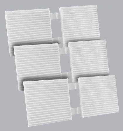 FilterHeads - AQ1234 Cabin Air Filter - Particulate Media 3PK - Buy 2, Get 1 Free! - Image 1