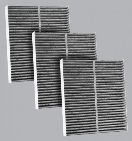 FilterHeads - AQ1216C Cabin Air Filter - Carbon Media, Absorbs Odors 3PK - Buy 2, Get 1 Free! - Image 1