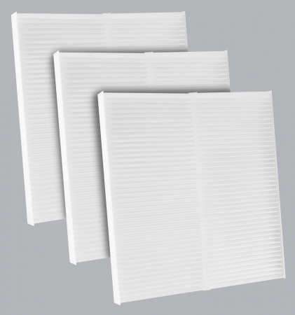 FilterHeads - AQ1224 Cabin Air Filter - Particulate Media 3PK - Buy 2, Get 1 Free! - Image 1