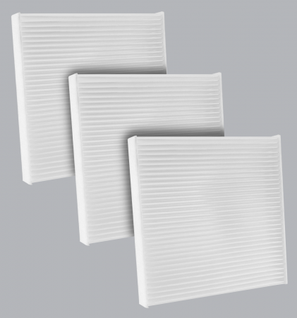 FilterHeads - AQ1235 Cabin Air Filter - Particulate Media 3PK - Buy 2, Get 1 Free! - Image 1