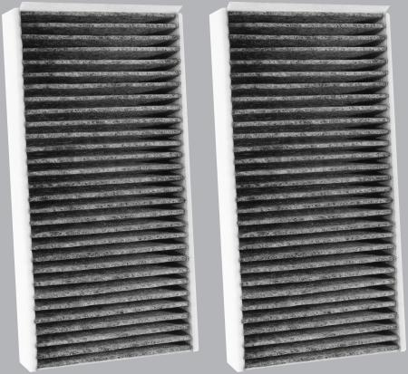FilterHeads - AQ1254C Cabin Air Filter - Carbon Media, Absorbs Odors - Image 2