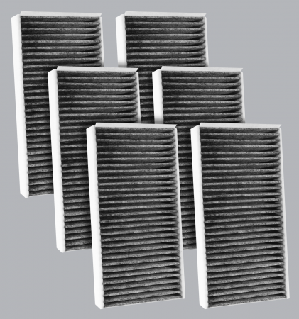 FilterHeads - AQ1254C Cabin Air Filter - Carbon Media, Absorbs Odors 3PK - Buy 2, Get 1 Free!
