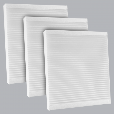 FilterHeads - AQ1164 Cabin Air Filter - Particulate Media 3PK - Buy 2, Get 1 Free! - Image 1