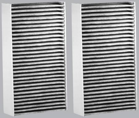 FilterHeads - AQ1040C Cabin Air Filter - Carbon Media, Absorbs Odors - Image 2