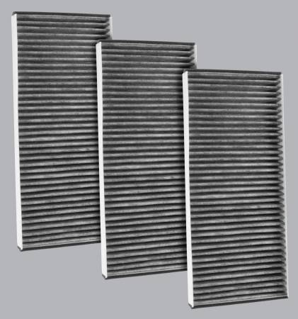 FilterHeads - AQ1173C Cabin Air Filter - Carbon Media, Absorbs Odors 3PK - Buy 2, Get 1 Free! - Image 1