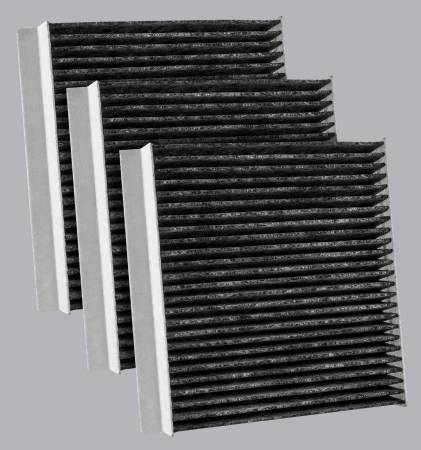 FilterHeads - AQ1263C Cabin Air Filter - Carbon Media, Absorbs Odors 3PK - Buy 2, Get 1 Free! - Image 1