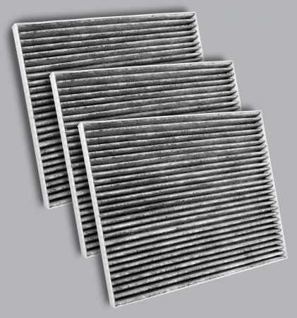 FilterHeads - AQ1276C-B Cabin Air Filter - Carbon Media, Absorbs Odors 3PK - Buy 2, Get 1 Free! - Image 1