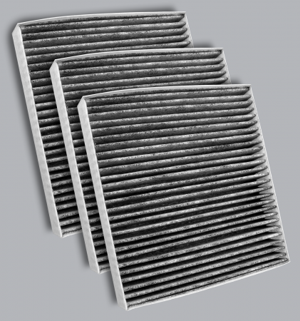 FilterHeads - AQ1278C-B Cabin Air Filter - Carbon Media, Absorbs Odors 3PK - Buy 2, Get 1 Free!