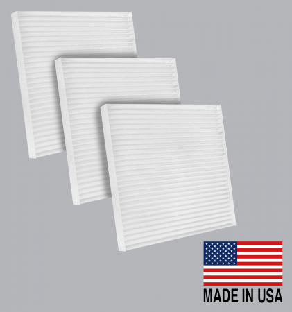 FilterHeads - AQ1264-B Cabin Air Filter - Particulate Media 3PK - Buy 2, Get 1 Free! - Image 1