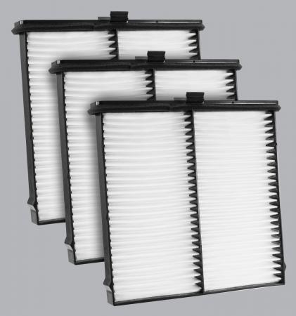 FilterHeads - AQ1253-B Cabin Air Filter - Particulate Media 3PK - Buy 2, Get 1 Free! - Image 1