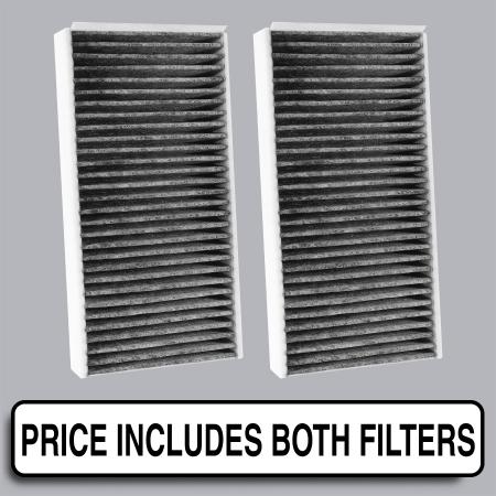 FilterHeads - AQ1254C Cabin Air Filter - Carbon Media, Absorbs Odors - Image 1