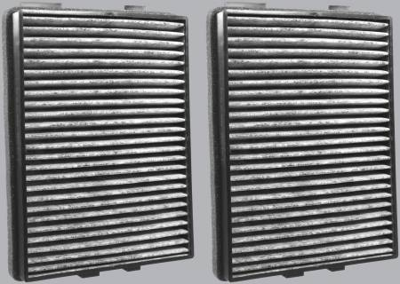 FilterHeads - AQ1055C Cabin Air Filter - Carbon Media, Absorbs Odors - Image 2