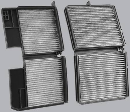 FilterHeads - AQ1061 Cabin Air Filter - Carbon Media, Absorbs Odors - Image 2